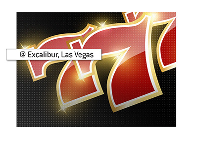 The largest Jackpot took place at the Excalibur in Las Vegas.  The year was 2003.