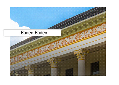Luxurious Baden-Baden Casino.