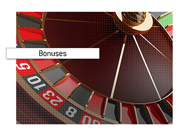 The article discusses the standard play-through requirements for online casino bonuses.