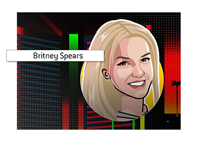 One of the brightest Las Vegas stars of all time - Britney Spears