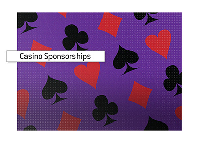 Casino sponsorship deals are becoming more and more popular.
