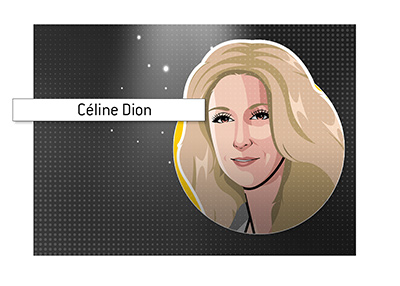 The highest grossing concert residency in Las Vegas and the world.  Celine Dion.