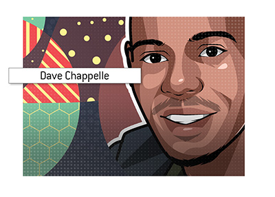 Very popular Las Vegas show host - Dave Chappelle.