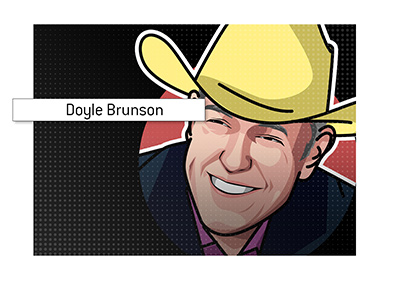 One of the most famous poker players in history - Doyle Brunson.