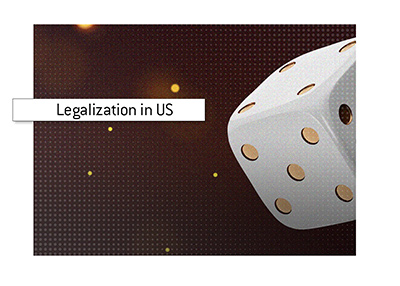 The legality of online casinos in the United States of America is discussed. Where is it legal to play?