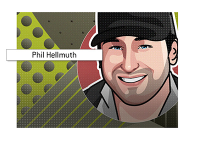The Poker Brat - Phil Hellmuth - Profile art.