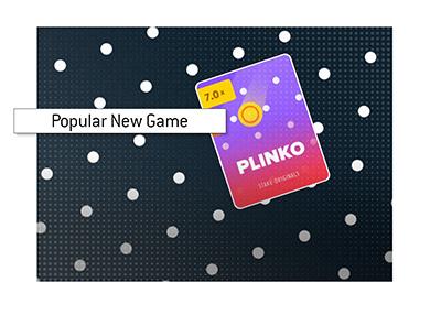 Popular game at Stake - Plinko - Poster - Art.