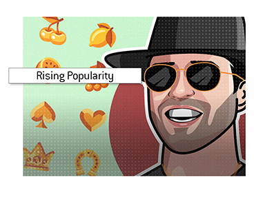 Roshtein - Live slots playing streamer is rising in popularity.