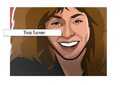 Tina Turner lead a variety of cabaret shows at Caesars Palace in Las Vegas.